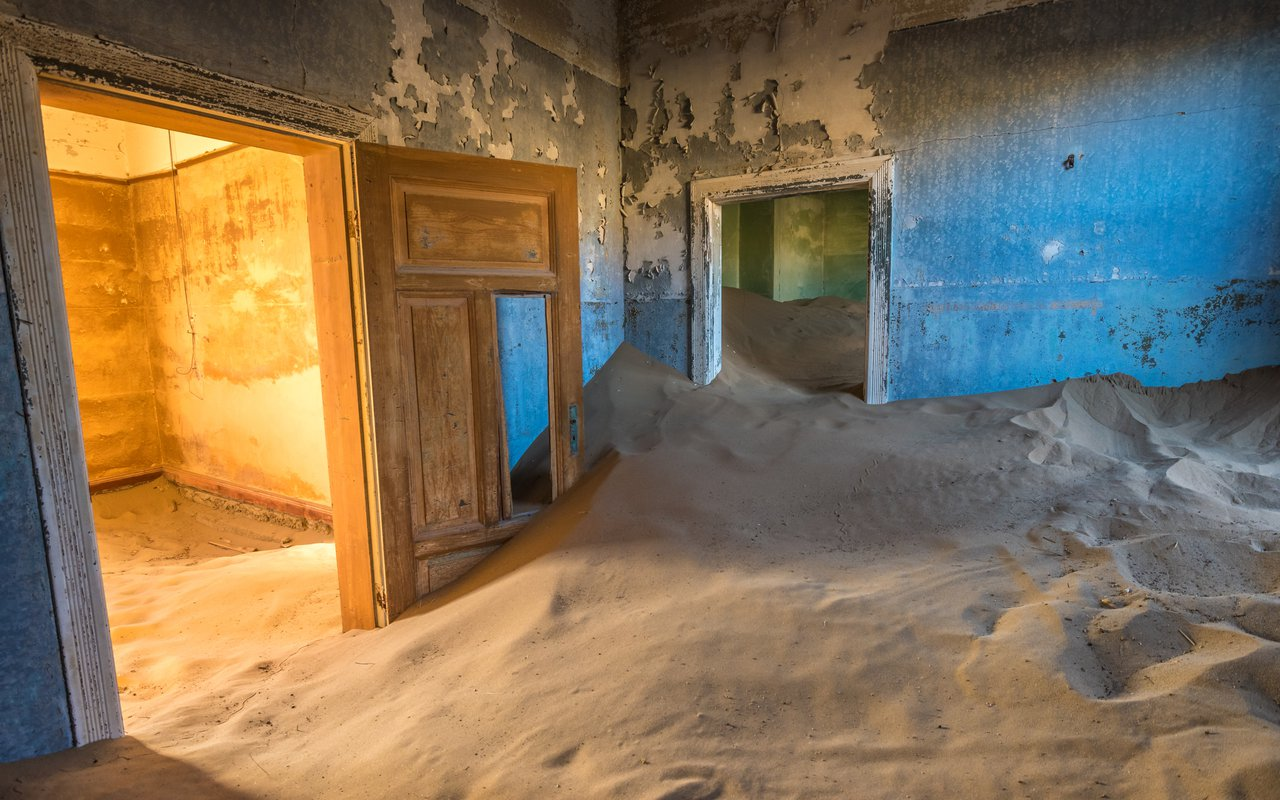 AWAYN IMAGE Kolmanskop The Ghost Town of Namib Desert