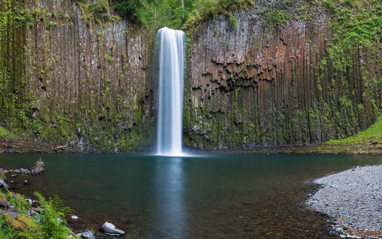 AWAYN IMAGE Abiqua Falls