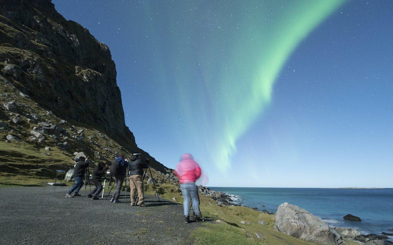AWAYN IMAGE The Lofoten islands northern lights destination
