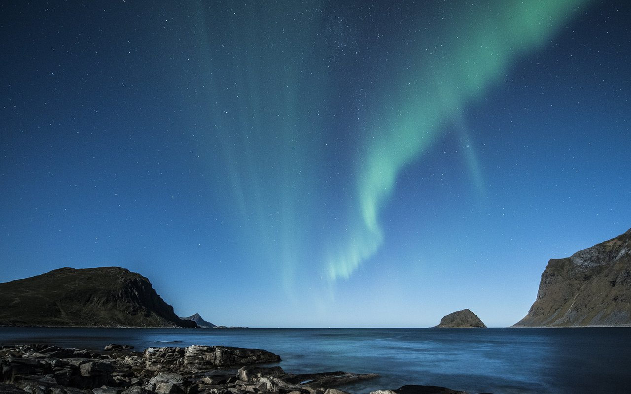 AWAYN IMAGE The Lofoten islands northern lights destination