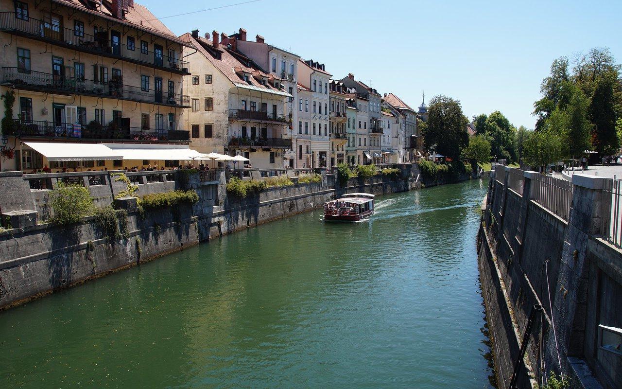 AWAYN IMAGE Walking and eventually boating at Ljubljanica