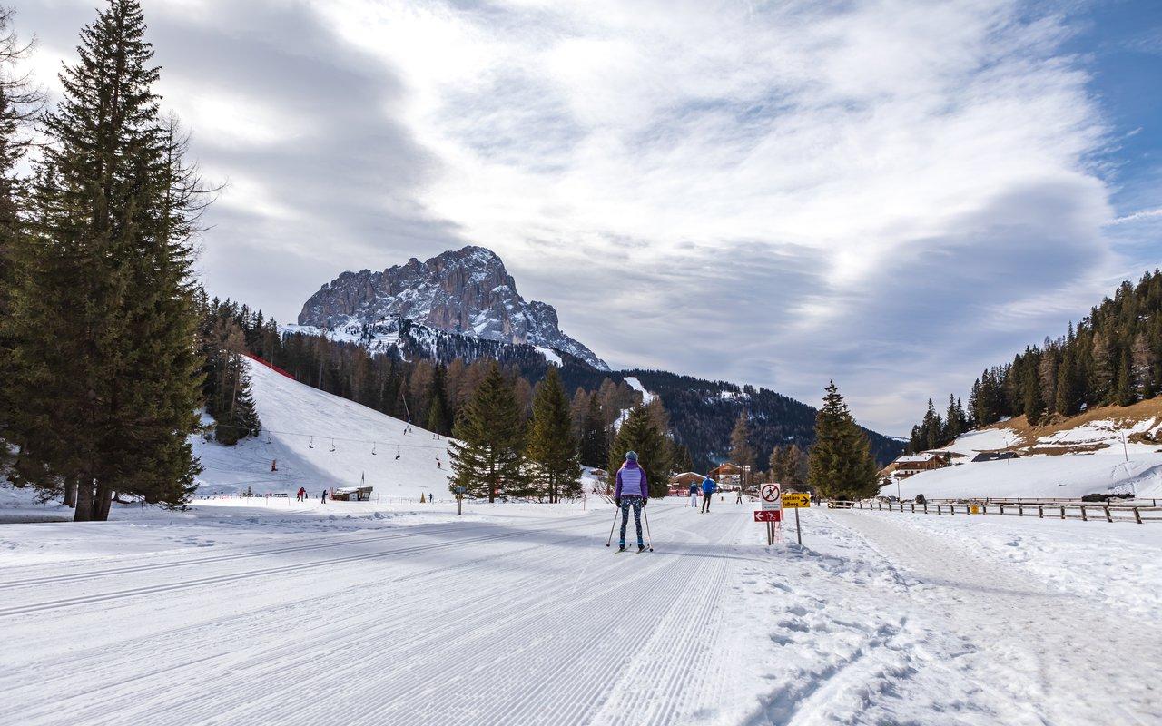 AWAYN IMAGE Skiing in Wolkenstein