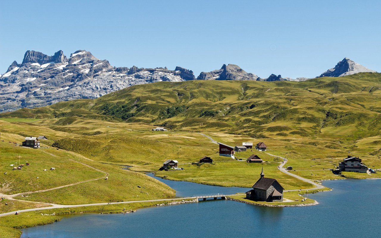 AWAYN IMAGE Bergsee Lake in Germany