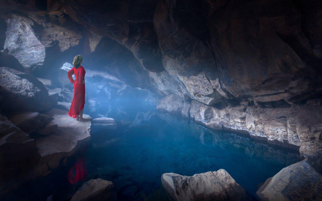 AWAYN IMAGE Hike to Grjotagja Cave