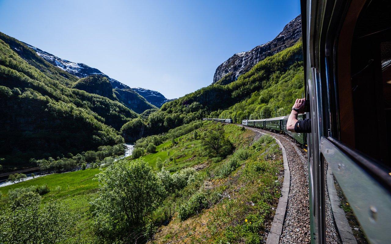 AWAYN IMAGE Take the Flam train (Flamsbana)